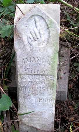 CORDELL TREECE, AMANDA - Pemiscot County, Missouri | AMANDA CORDELL TREECE - Missouri Gravestone Photos
