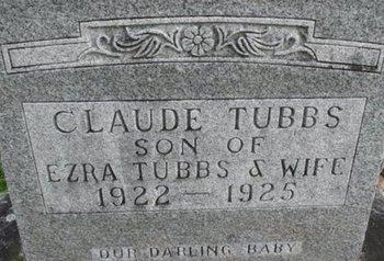 TUBBS, CLAUDE - Pemiscot County, Missouri   CLAUDE TUBBS - Missouri Gravestone Photos