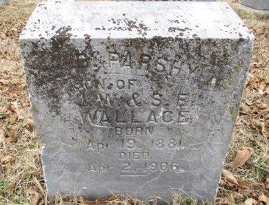 WALLACE, B. PARSHY - Pemiscot County, Missouri | B. PARSHY WALLACE - Missouri Gravestone Photos