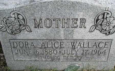 WALLACE, DORA ALICE - Pemiscot County, Missouri | DORA ALICE WALLACE - Missouri Gravestone Photos