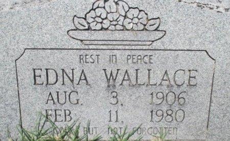 WALLACE, EDNA - Pemiscot County, Missouri   EDNA WALLACE - Missouri Gravestone Photos