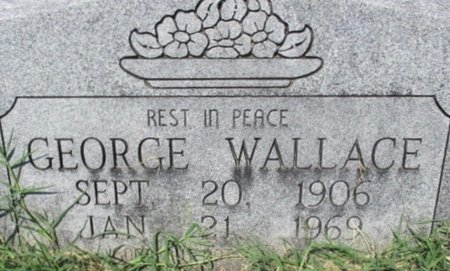 WALLACE, GEORGE W - Pemiscot County, Missouri | GEORGE W WALLACE - Missouri Gravestone Photos