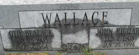 WALLACE, JOHN RICHARD - Pemiscot County, Missouri | JOHN RICHARD WALLACE - Missouri Gravestone Photos