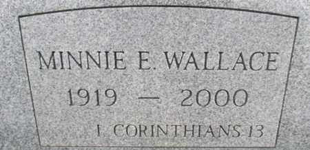 WALLACE, MINNIE E. - Pemiscot County, Missouri | MINNIE E. WALLACE - Missouri Gravestone Photos