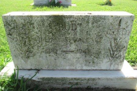 "WALLACE, WILLIAM S. ""BUD"" - Pemiscot County, Missouri | WILLIAM S. ""BUD"" WALLACE - Missouri Gravestone Photos"