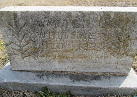 WHITENER, WALTER L. - Pemiscot County, Missouri | WALTER L. WHITENER - Missouri Gravestone Photos