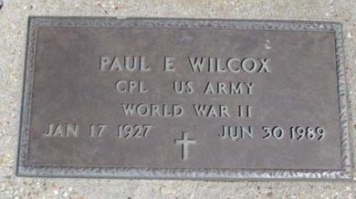 WILCOX, PAUL EVERETT VETERAN WWII - Pemiscot County, Missouri | PAUL EVERETT VETERAN WWII WILCOX - Missouri Gravestone Photos