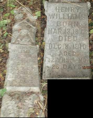 WILLIAMS, HENRY - Pemiscot County, Missouri | HENRY WILLIAMS - Missouri Gravestone Photos