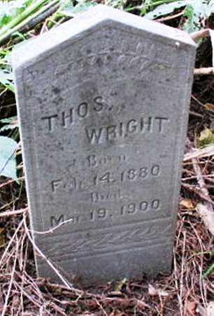 WRIGHT, THOMAS - Pemiscot County, Missouri | THOMAS WRIGHT - Missouri Gravestone Photos