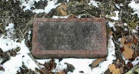 BALL, ANNA M. - Phelps County, Missouri | ANNA M. BALL - Missouri Gravestone Photos
