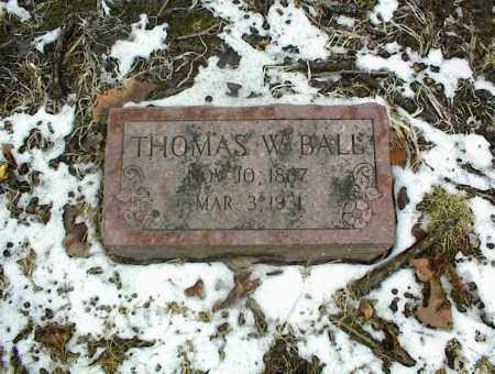 BALL, THOMAS W. - Phelps County, Missouri | THOMAS W. BALL - Missouri Gravestone Photos