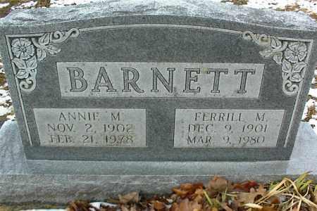 BARNETT, FERRILL M. - Phelps County, Missouri   FERRILL M. BARNETT - Missouri Gravestone Photos