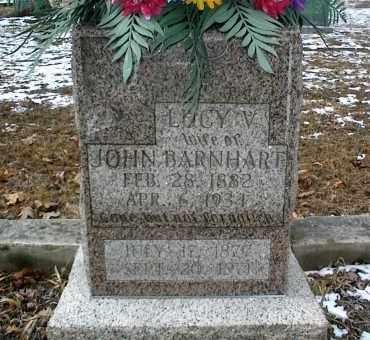 BARNHART, LUCY V. - Phelps County, Missouri | LUCY V. BARNHART - Missouri Gravestone Photos
