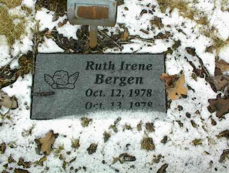 BERGEN, RUTH IRENE - Phelps County, Missouri   RUTH IRENE BERGEN - Missouri Gravestone Photos