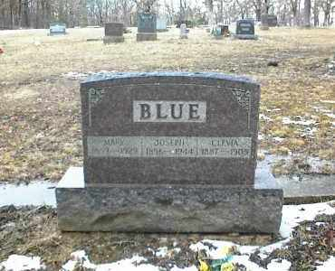 BLUE, MARY - Phelps County, Missouri | MARY BLUE - Missouri Gravestone Photos