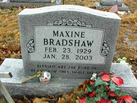 BRADSHAW, MAXINE - Phelps County, Missouri | MAXINE BRADSHAW - Missouri Gravestone Photos