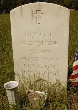 BRADSHAW, ROBERT (VETERAN WWII) - Phelps County, Missouri | ROBERT (VETERAN WWII) BRADSHAW - Missouri Gravestone Photos