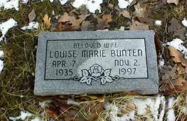 BUNTEN, LOUISE MARIE - Phelps County, Missouri   LOUISE MARIE BUNTEN - Missouri Gravestone Photos