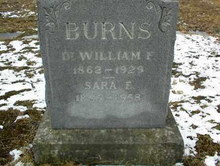 JOHNSON BURNS, SARA ELIZABETH - Phelps County, Missouri | SARA ELIZABETH JOHNSON BURNS - Missouri Gravestone Photos
