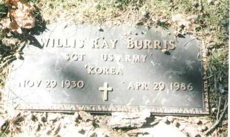 BURRIS, WILLIS RAY VETERAN KOR - Phelps County, Missouri   WILLIS RAY VETERAN KOR BURRIS - Missouri Gravestone Photos