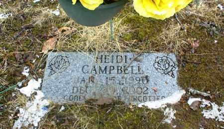 CAMPBELL, HEIDI - Phelps County, Missouri   HEIDI CAMPBELL - Missouri Gravestone Photos
