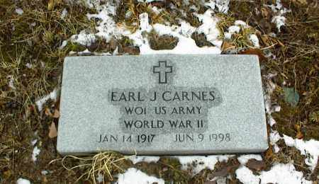 CARNES, EARL J. VETERAN WWII - Phelps County, Missouri | EARL J. VETERAN WWII CARNES - Missouri Gravestone Photos