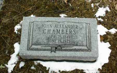 CHAMBERS, JOHN ALEXANDER - Phelps County, Missouri | JOHN ALEXANDER CHAMBERS - Missouri Gravestone Photos