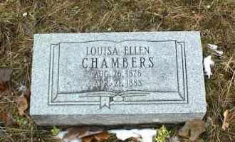 CHAMBERS, LOUISA ELLEN - Phelps County, Missouri | LOUISA ELLEN CHAMBERS - Missouri Gravestone Photos