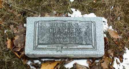 CHAMBERS, LOUISA JANE - Phelps County, Missouri   LOUISA JANE CHAMBERS - Missouri Gravestone Photos