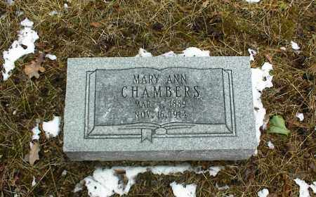 CHAMBERS, MARY ANN - Phelps County, Missouri | MARY ANN CHAMBERS - Missouri Gravestone Photos