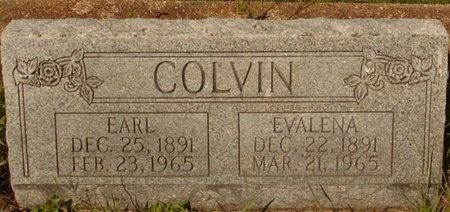 EVANS COLVIN, EVALENA - Phelps County, Missouri   EVALENA EVANS COLVIN - Missouri Gravestone Photos