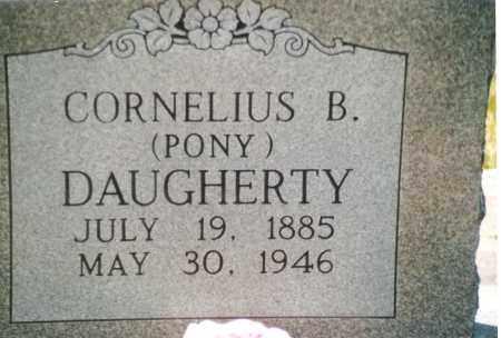 "DAUGHERTY, CORNELIUS BURTON ""PONY"" - Phelps County, Missouri   CORNELIUS BURTON ""PONY"" DAUGHERTY - Missouri Gravestone Photos"