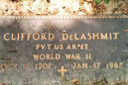 DELASHMIT, CLIFFORD VETERAN WWII - Phelps County, Missouri | CLIFFORD VETERAN WWII DELASHMIT - Missouri Gravestone Photos