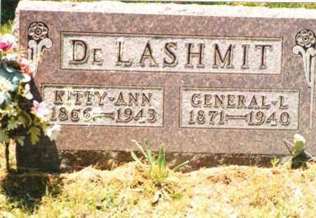 DELASHMIT, KITTY ANN - Phelps County, Missouri | KITTY ANN DELASHMIT - Missouri Gravestone Photos