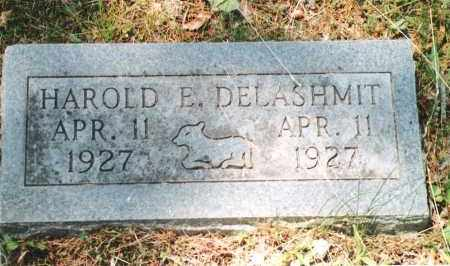 DELASHMIT, HAROLD E. - Phelps County, Missouri | HAROLD E. DELASHMIT - Missouri Gravestone Photos