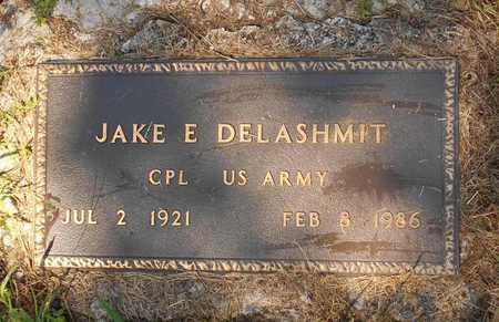DELASHMIT, JAKE E. VETERAN - Phelps County, Missouri | JAKE E. VETERAN DELASHMIT - Missouri Gravestone Photos