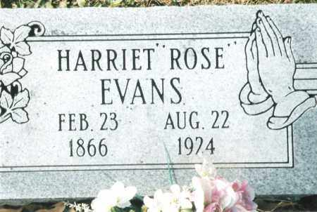 "EVANS, HARRIET ROSALENE ""ROSE"" - Phelps County, Missouri | HARRIET ROSALENE ""ROSE"" EVANS - Missouri Gravestone Photos"