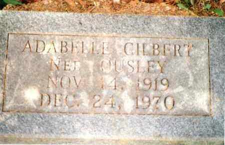 GILBERT, ADABELLE - Phelps County, Missouri | ADABELLE GILBERT - Missouri Gravestone Photos