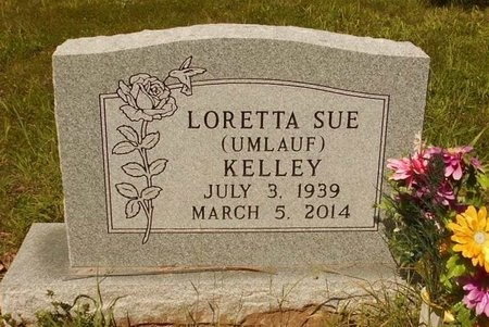 UMLAUF KELLEY, LORETTA SUE - Phelps County, Missouri | LORETTA SUE UMLAUF KELLEY - Missouri Gravestone Photos