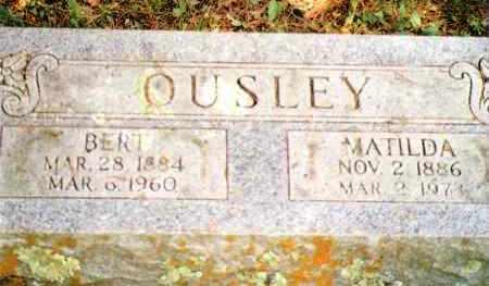 "FITZGERALD OUSLEY, MATILDA ELIZABETH ""MATTIE"" - Phelps County, Missouri | MATILDA ELIZABETH ""MATTIE"" FITZGERALD OUSLEY - Missouri Gravestone Photos"