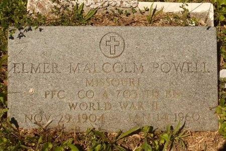 POWELL, ELMER MALCOLM (VETERAN WWII) - Phelps County, Missouri | ELMER MALCOLM (VETERAN WWII) POWELL - Missouri Gravestone Photos