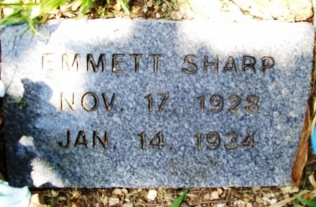 SHARP, EMMETT - Phelps County, Missouri   EMMETT SHARP - Missouri Gravestone Photos