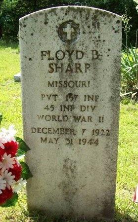 SHARP, FLOYD B (VETERAN WWII - Phelps County, Missouri | FLOYD B (VETERAN WWII SHARP - Missouri Gravestone Photos