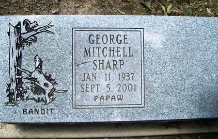 SHARP, GEORGE MITCHELL - Phelps County, Missouri | GEORGE MITCHELL SHARP - Missouri Gravestone Photos