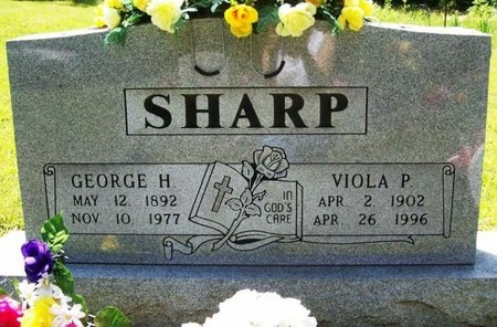 SHARP, GEORGE HARRISON - Phelps County, Missouri | GEORGE HARRISON SHARP - Missouri Gravestone Photos