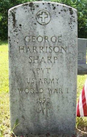 SHARP, GEORGE HARRISON (VETERAN WWI) - Phelps County, Missouri   GEORGE HARRISON (VETERAN WWI) SHARP - Missouri Gravestone Photos