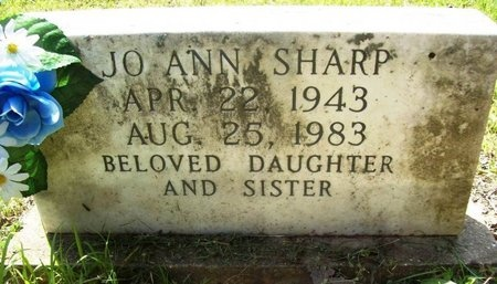 SHARP, JO ANN - Phelps County, Missouri | JO ANN SHARP - Missouri Gravestone Photos