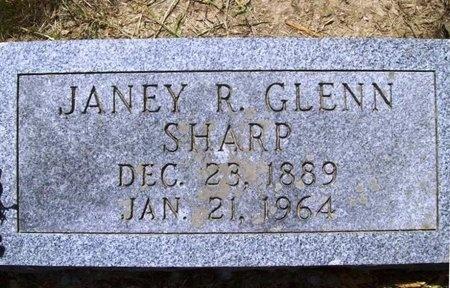 SHARP, JANEY R. - Phelps County, Missouri   JANEY R. SHARP - Missouri Gravestone Photos