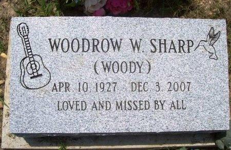 "SHARP, WOODROW WILSON ""WOODY"" - Phelps County, Missouri | WOODROW WILSON ""WOODY"" SHARP - Missouri Gravestone Photos"