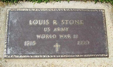 STONE, LOUIS R (VETERAN WWII) - Phelps County, Missouri | LOUIS R (VETERAN WWII) STONE - Missouri Gravestone Photos
